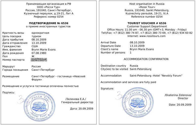 tourist visa covering letter